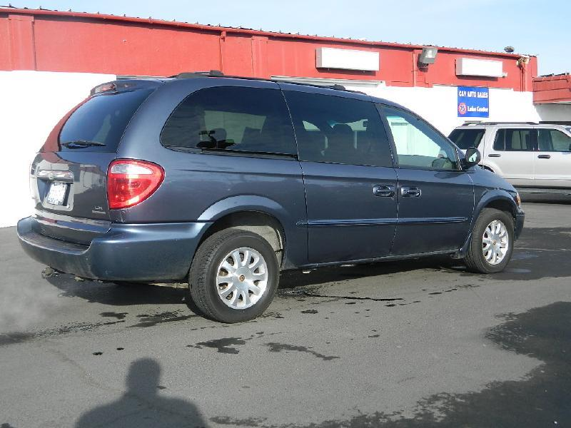 2002 chrysler town and country awd lx 4dr extended mini van in moses lake wa c v auto sales. Black Bedroom Furniture Sets. Home Design Ideas