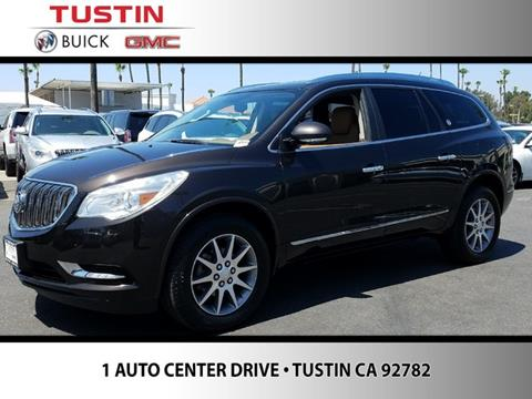 2014 Buick Enclave for sale in Tustin CA