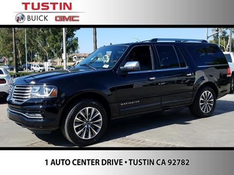 2016 Lincoln Navigator L for sale in Tustin CA