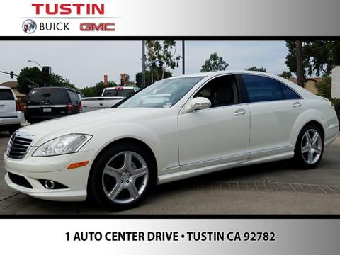2009 Mercedes-Benz S-Class for sale in Tustin CA