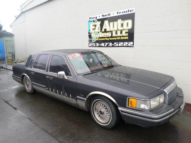 1993 lincoln town car signature 4dr sedan in tacoma for My town motors auburn wa