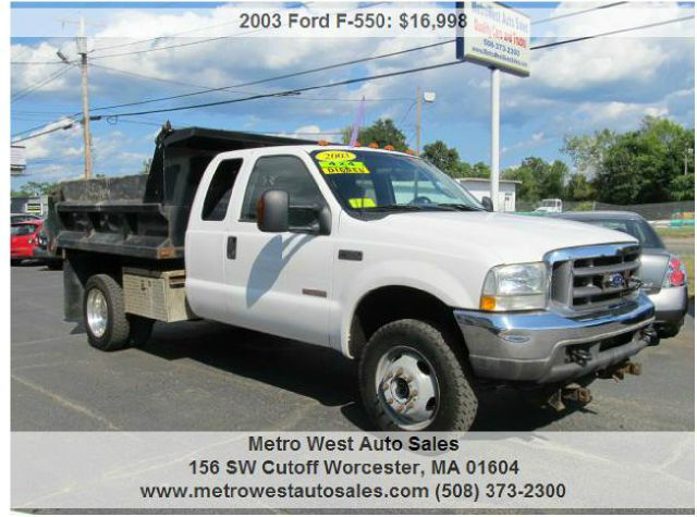 2003 Ford F-550 for sale in Worcester MA