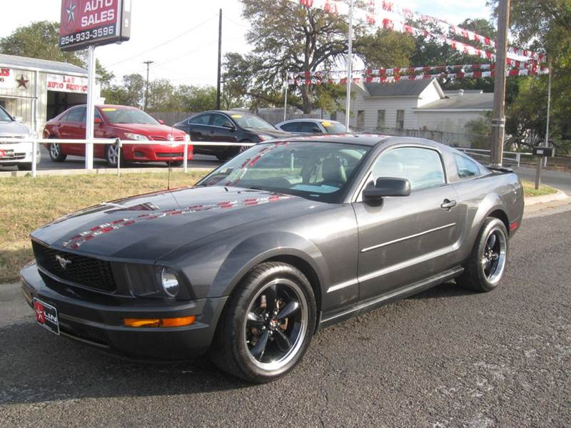 2007 ford mustang for sale in texas. Black Bedroom Furniture Sets. Home Design Ideas