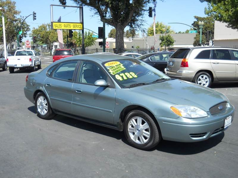 2005 ford taurus sel 4dr sedan in modesto ca modesto. Black Bedroom Furniture Sets. Home Design Ideas