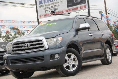 2008 Toyota Sequoia for sale in Spring, TX