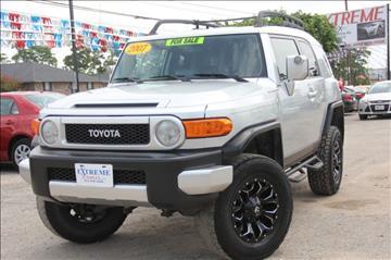 2007 Toyota FJ Cruiser for sale in Spring, TX