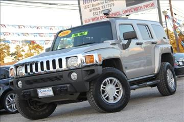 2006 HUMMER H3 for sale in Spring, TX