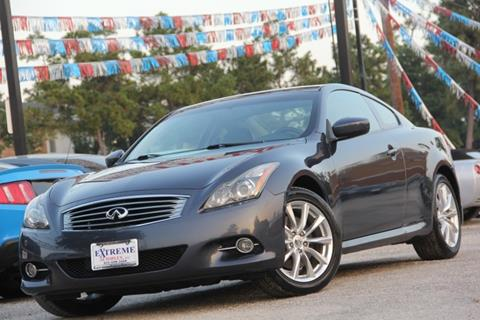 2011 Infiniti G37 Coupe for sale in Spring, TX