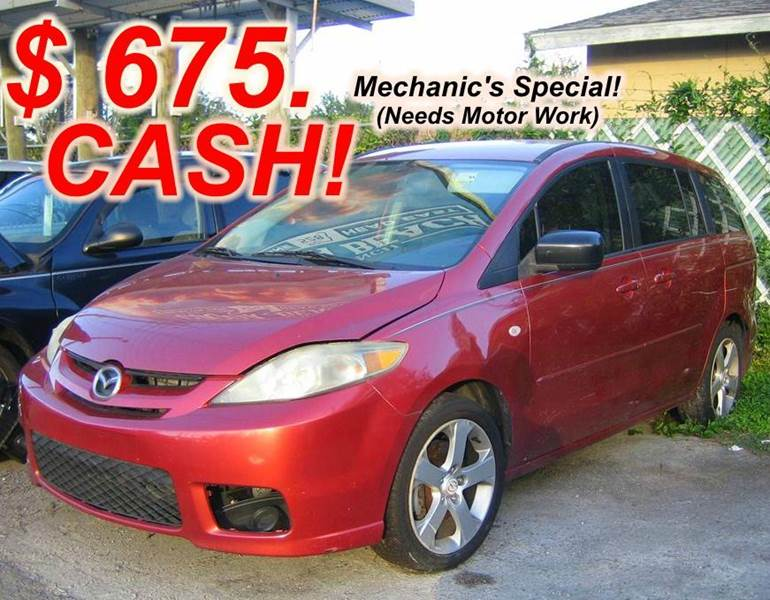 2006 mazda mazda5 touring 4dr mini van in orlando fl. Black Bedroom Furniture Sets. Home Design Ideas