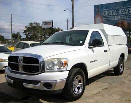 2007 dodge ram pickup 1500 for sale orlando fl for Orange city motors inc