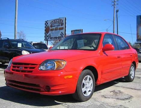 2005 hyundai accent for sale in orlando fl for Orange city motors inc