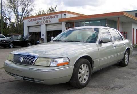 2004 mercury grand marquis for sale in florida for Orange city motors inc