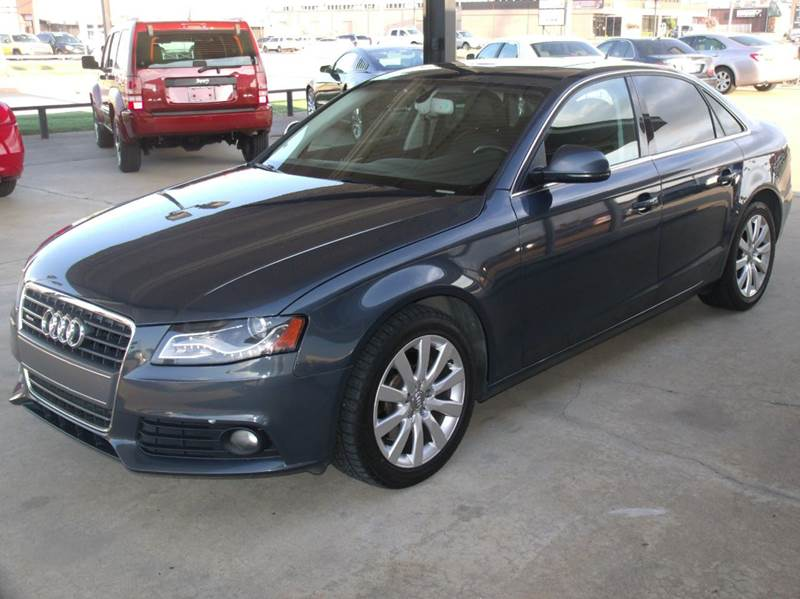 2009 audi a4 2 0t quattro awd premium plus 4dr sedan 6a in tulsa ok supreme auto sales. Black Bedroom Furniture Sets. Home Design Ideas