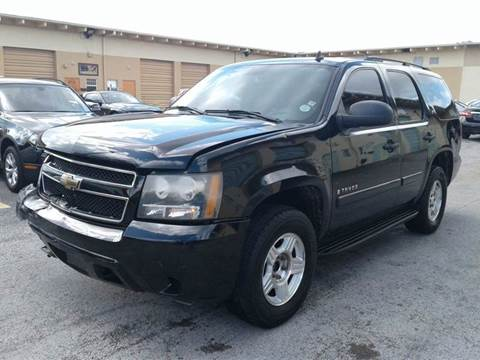 Used 2008 chevrolet tahoe for sale in florida for Selective motor cars miami