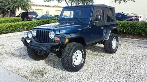 2005 Jeep Wrangler for sale in Miami, FL