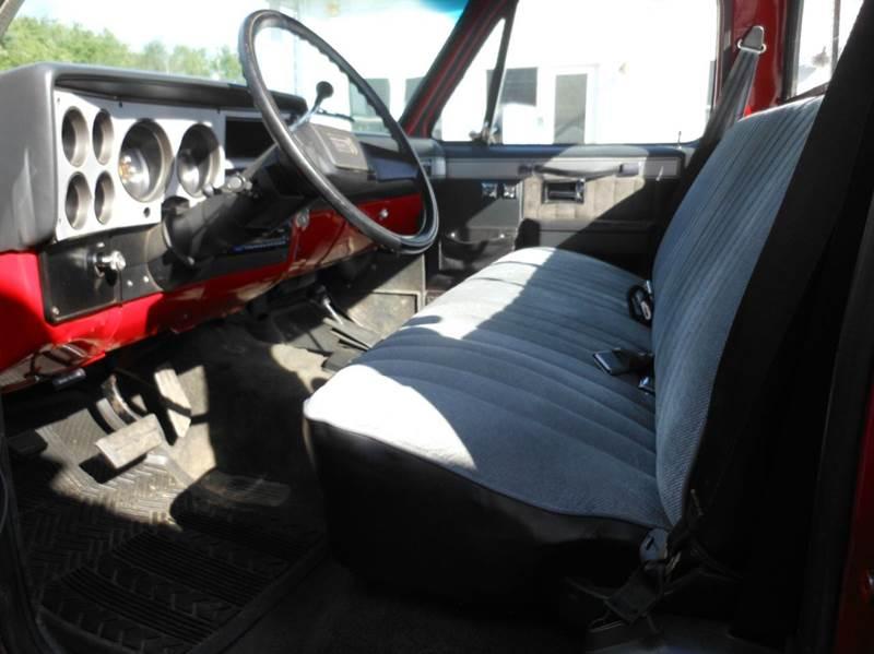 1987 GMC R/V 1500 Series 2dr V1500 4WD Standard Cab SB - Hermon ME