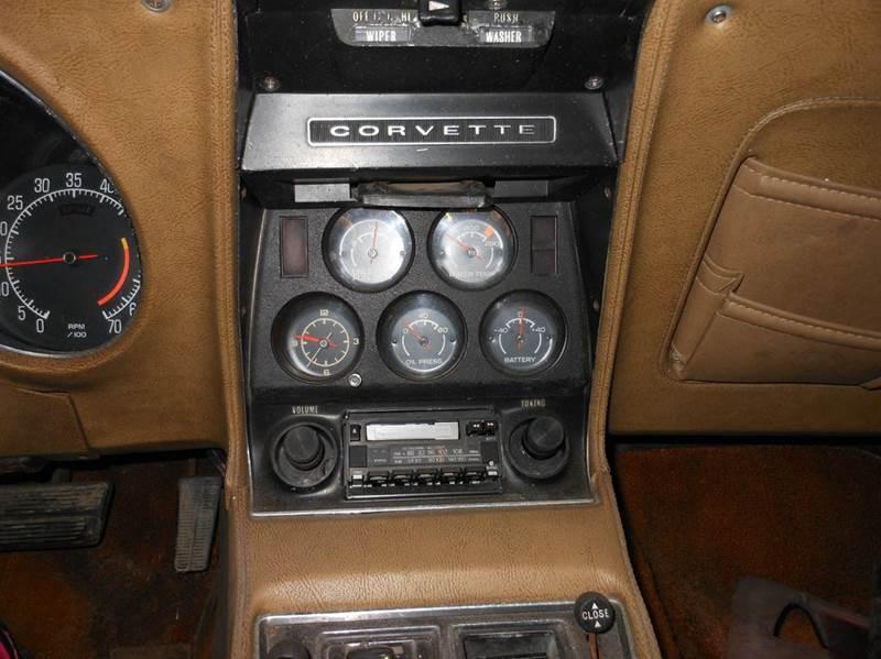 1975 Chevrolet Corvette Stingray - Hermon ME