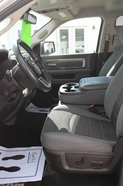 2014 RAM Ram Pickup 1500 4x4 Big Horn 4dr Crew Cab 5.5 ft. SB Pickup - Hermon ME