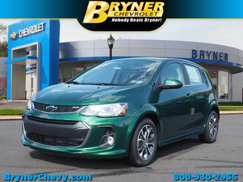 2018 Chevrolet Sonic for sale in Jenkintown, PA