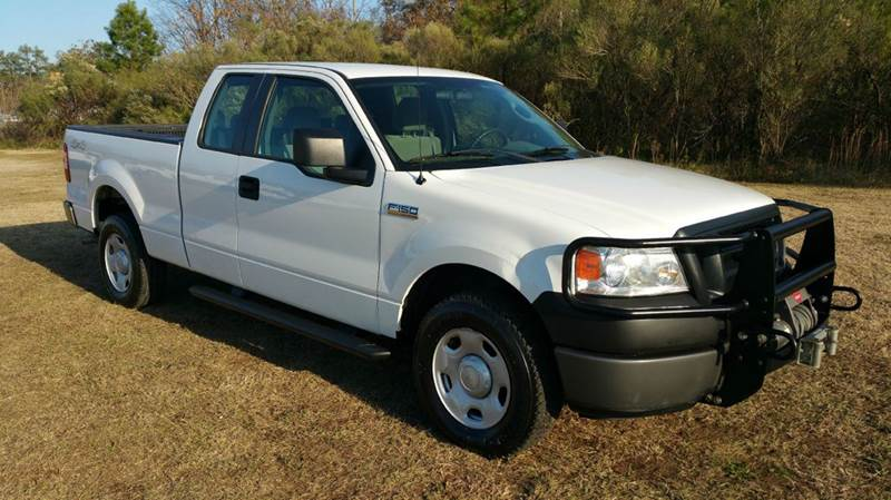 2008 FORD F-150 XL 4X4 4DR SUPERCAB STYLESIDE 6 white this a hard to find truck nice f150 xl