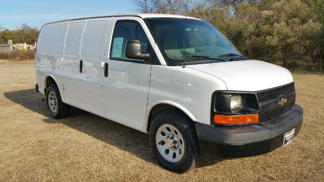 2012 CHEVROLET 1500 EXPRESS CARGO 3DR CARGO VAN white half ton v6 cargo van that will save you a l