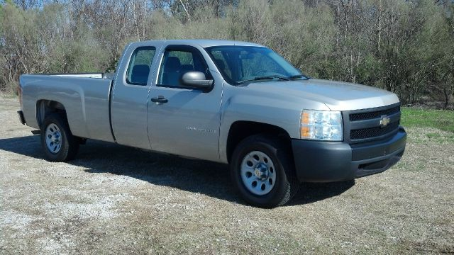 2008 CHEVROLET SILVERADO 1500 2WD EXTENDED LONG BED beige this truck is a one owner fleet truck th