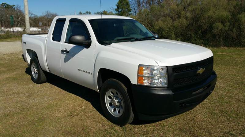 2009 CHEVROLET SILVERADO 1500 4X4 4DR EXTENDED CAB 58 FT SB white 53 v8 4x4 extended cab sh