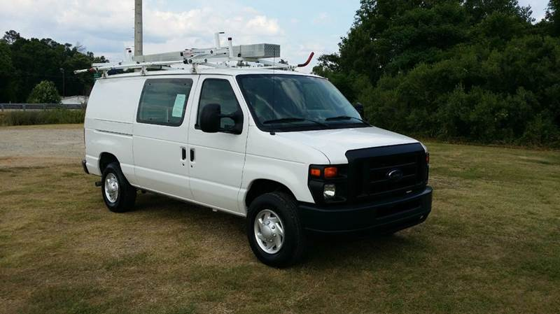 2012 FORD E350 SERIES CARGO 3DR CARGO VAN white do you like to have all your supplies  tools org