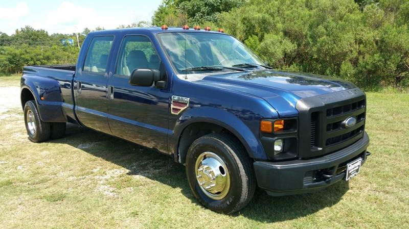 2008 FORD F-350 SUPER DUTY XL 4DR CREW CAB LB DRW RWD dk blue if you need a dual rear wheel crew