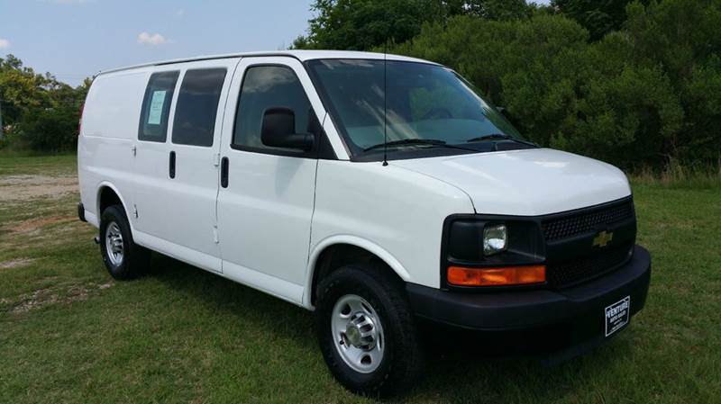 2011 CHEVROLET 2500 EXPRESS CARGO 3DR CARGO VAN white this van was built to help you work more ef