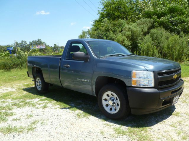 2010 CHEVROLET SILVERADO 1500 4X2 2DR REGULAR CAB 8 FT LB teal blue regular cab long bed v6 tha