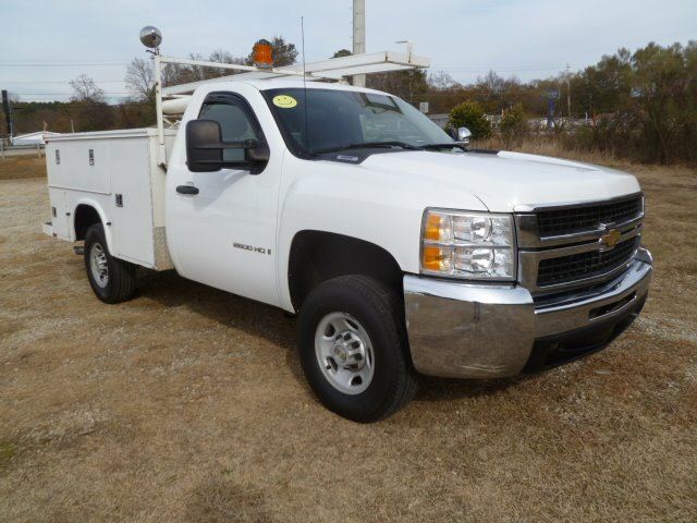 2007 CHEVROLET SILVERADO 2500 4X4 SERVICE TRUCK 4X4 white price reduced 4wd with a knapheide ser