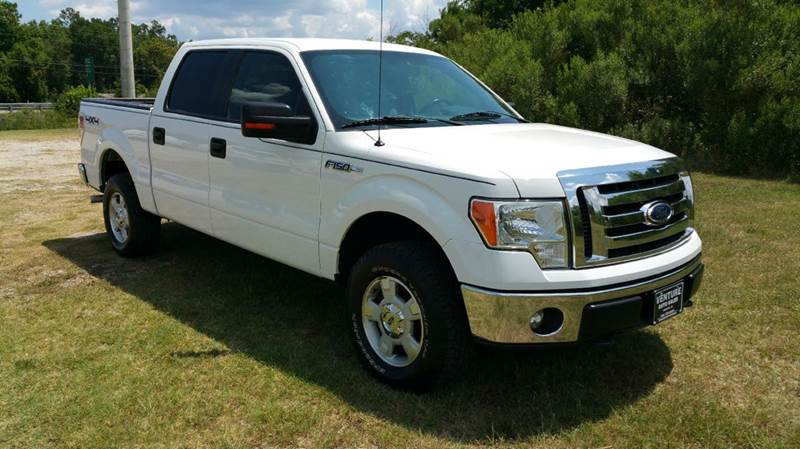 2012 FORD F-150 XLT 4X4 4DR SUPERCREW STYLESIDE white this truck is extra sharp with all kinds of