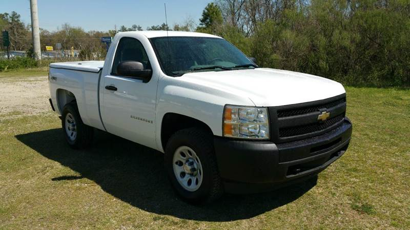 2009 CHEVROLET SILVERADO 1500 4X4 2DR REGULAR CAB 65 FT SB white photos coming soon regular c