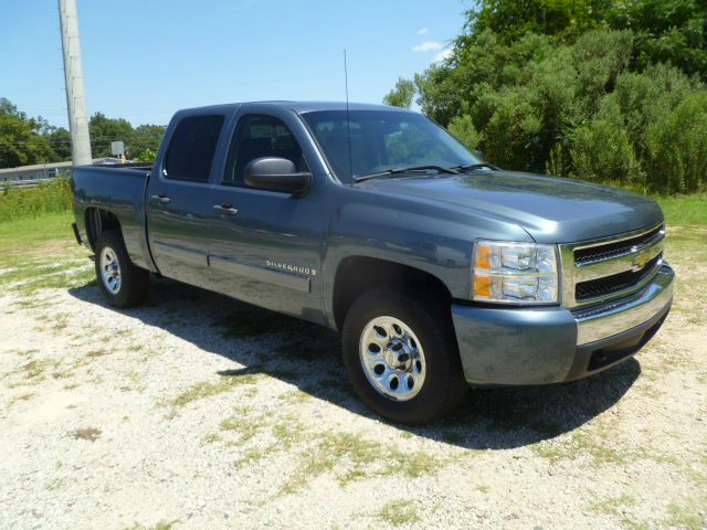 2008 CHEVROLET SILVERADO 1500 LT CREW CAB 2WD SHORT BED teal blue extra sharp 4 door crew cab al