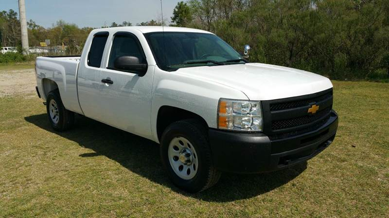 2011 CHEVROLET SILVERADO 1500 4X4 4DR EXTENDED CAB 65 FT SB white this is the truck you need to