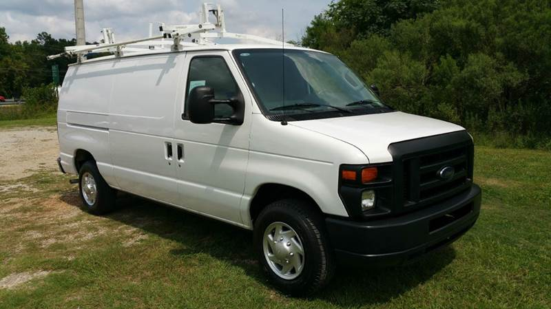 2010 FORD E150 SERIES CARGO VAN 3DR ECONOLINE white this van is like new with some really nice a