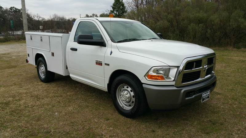 2011 DODGE RAM 2500 HD SERVICE TRUCK 2DR LONG WHEEL BASE white reading service body that is exce