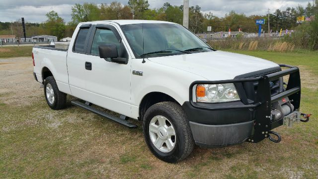 2008 FORD F-150 XL 4X4 PICKUP EXTENDED CAB 4DR white 4x4 extended cab short bed with a warn 9k