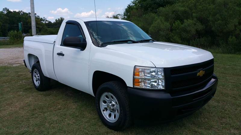 2012 CHEVROLET SILVERADO 1500 4X2 2DR REGULAR CAB 65 FT SB white regular cab short bed except