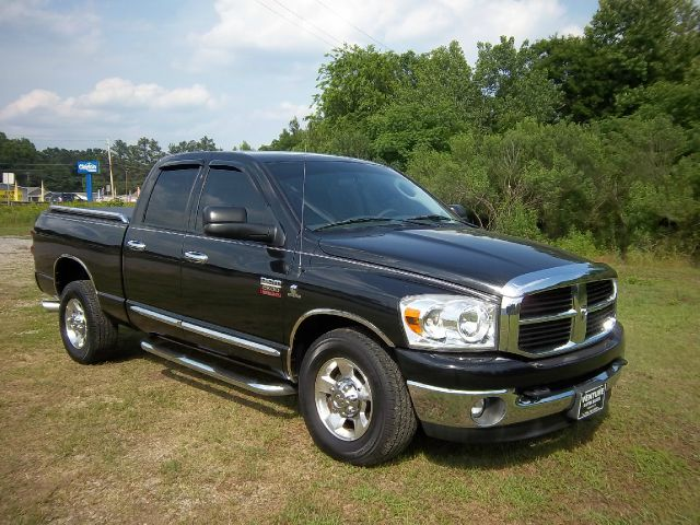 2007 DODGE RAM PICKUP 2500 SLT 2WD CREW CAB black this a very hard to find truck cummins turbo di