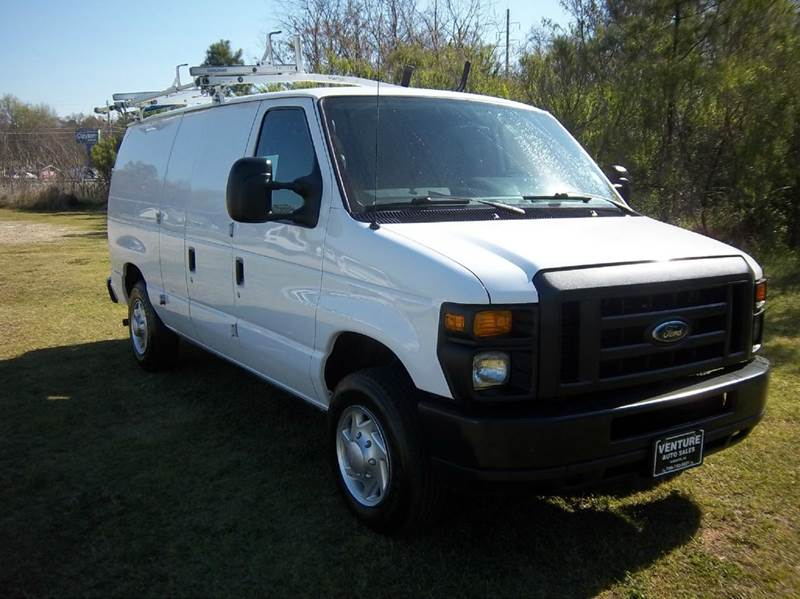 2011 FORD E-SERIES CARGO 3DR CARGO VAN white stay organized with this nice cargo van with two sid