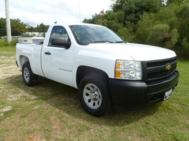 2008 CHEVROLET SILVERADO 1500 2WD 2DR REGULAR CAB 65 FT SB white regular cab short bed with wea