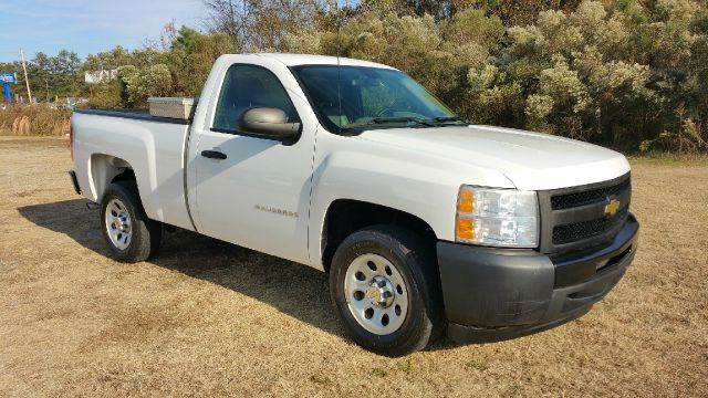 2011 CHEVROLET SILVERADO 1500 4X2 2DR REGULAR CAB 65 FT SB white regular cab short bed this t