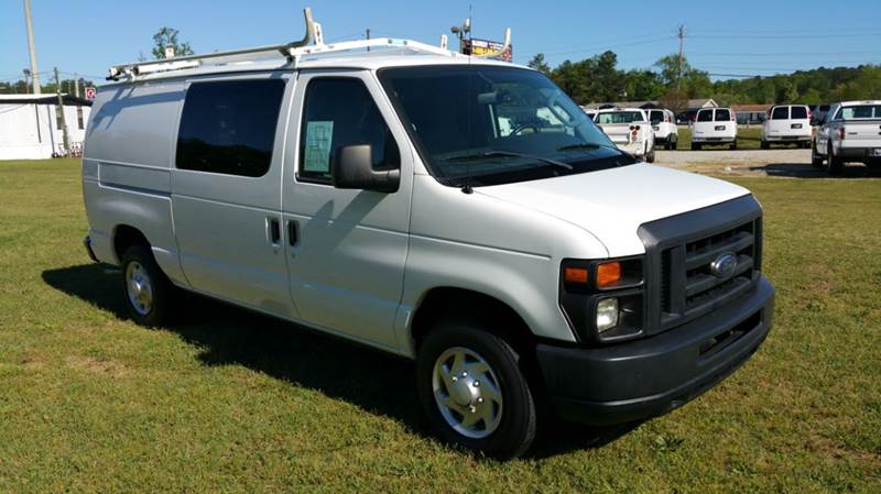 2013 FORD E-SERIES CARGO 3DR ECONOLINE white if you like to stay organized while you work you wi