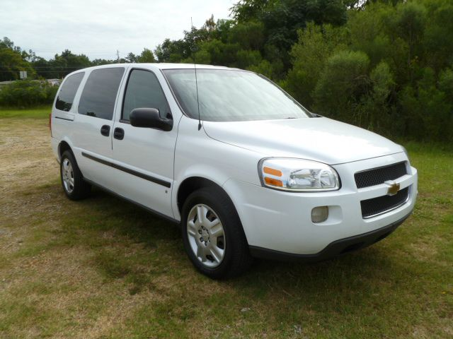 2008 CHEVY UPLANDER CARGO VAN 4DR CARGO white small cargo van that can hold all your tools  save