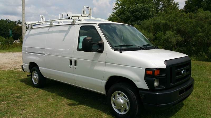 2010 FORD E150 SERIES CARGO VAN ECONOLINE white if you like to be organized than this is your va