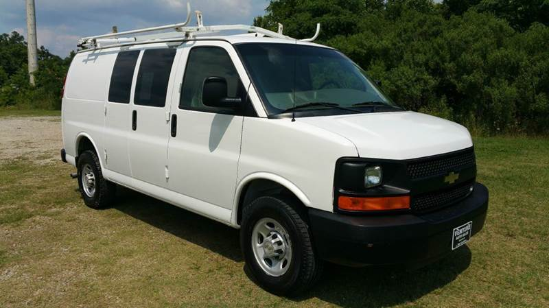 2007 CHEVROLET 3500 EXPRESS CARGO EXPRESS CARGO VAN 3DR white how about this a 1 ton cargo van wi