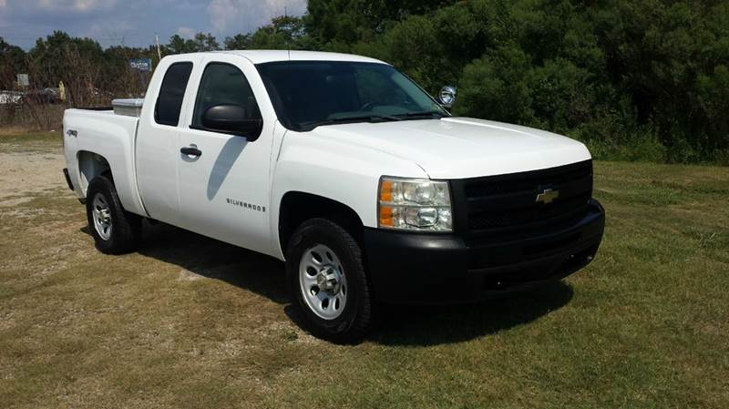2009 CHEVROLET SILVERADO 1500 4X4 4DR EXTENDED CAB 65 FT SB white would you like a great depen