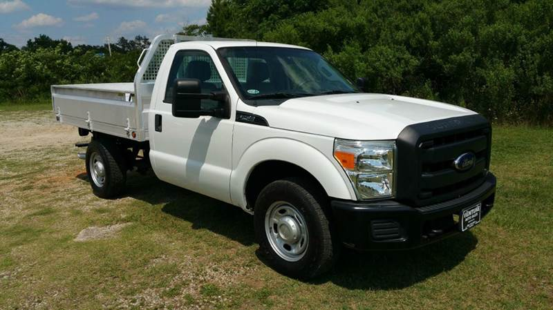 2012 FORD F-250 SUPER DUTY XL 4X2 2DR REGULAR CAB 8 FT FLA white what a sweet truck built to do